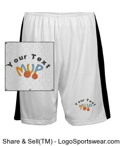 Youth Ultimate Fit Mesh Short Design Zoom