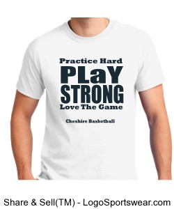 Practice Hard Play Strong T-Shirt Design Zoom